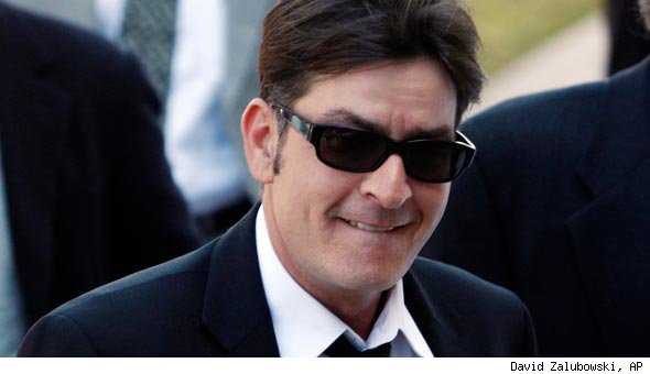 charlie sheen no teeth picture. Today#39;s news that Charlie