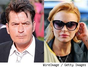 What's the Difference Between Charlie Sheen and Lindsay Lohan?