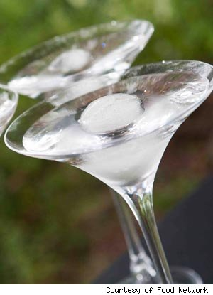 Sandra Lee's Crystal Ball Cocktail