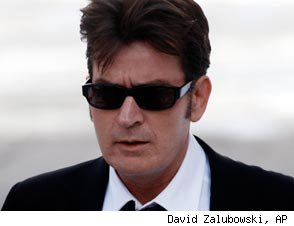 Report: Charlie Sheen on Yet Another 'Non-Stop' Cocaine-and-Hookers Bender