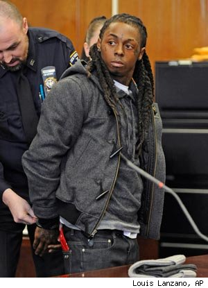 Lil' Wayne Gets Solitary Confinement for Using MP3 Player