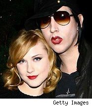 Evan Rachel Wood Says Marilyn Manson Helped 'Raise Her'
