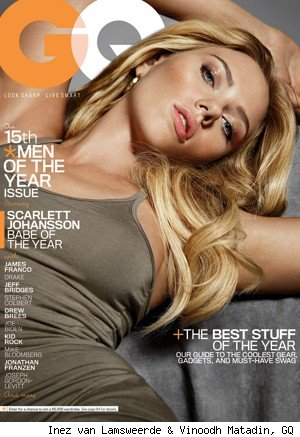 Scarlett Johansson Joins GQ's Men of the Year