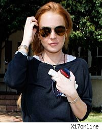 Lindsay Lohan Working on Fashion Line in Rehab