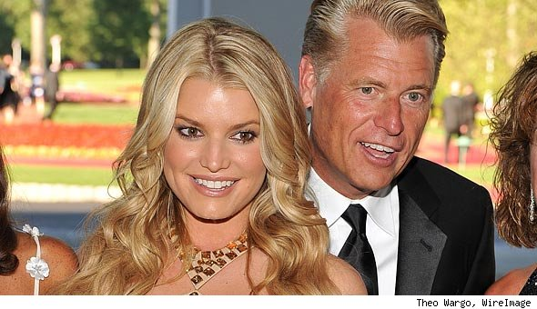 Jessica Simpson and Joe Simpson