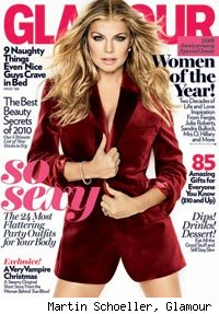 Fergie / Glamour Magazine cover