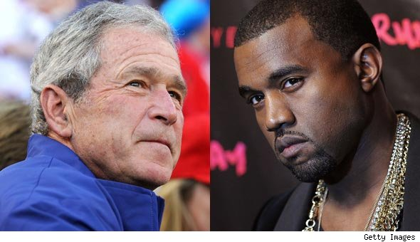 George Bush Reflects on Kanye West's 'Racist' Remark