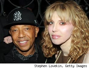 Russell Simmons & Courtney Love