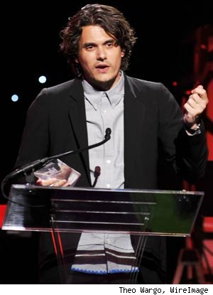 John Mayer at VH1 Save The Music Gala