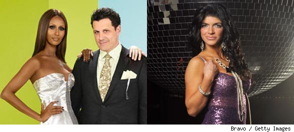 Iman and Isaac Mizrahi 'The Fashion Show' / Teresa Giudice of 'Real Housewives of New Jersey'