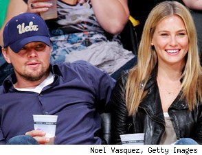 Leonardo DiCaprio and model Bar Rafaeli
