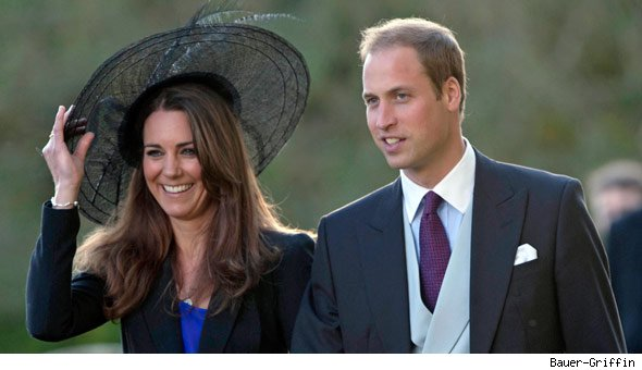 Prince William and girlfriend Kate Middleton