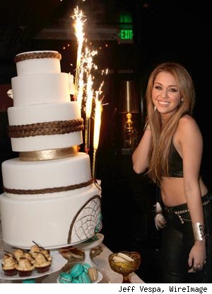 Miley Cyrus 18th Birthday
