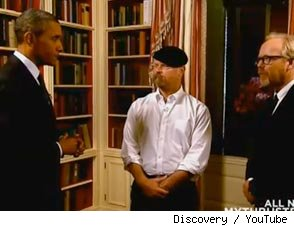 President Barack Obama's MythBusters Preview is Here!
