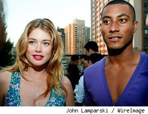 Model Doutzen Kroes and DJ Sunnery James Marry