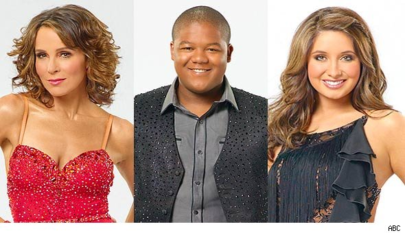 Jennifer Grey, Kyle Massey and Bristol Palin