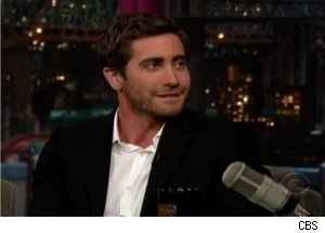 David Letterman enjoyed Jake Gyllenhaal's new movie, 'Love and Other Drugs,' ...