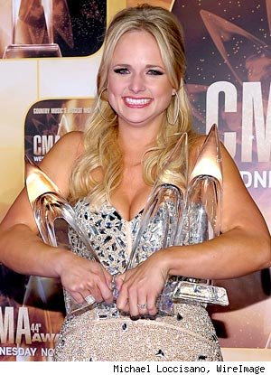 Miranda Lambert Gets Birthday Wish at CMA Awards