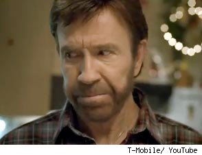 Czech Ads for T-Mobile Featuring The Great Chuck Norris