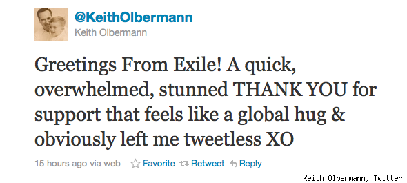 Keith Olbermann Twitter