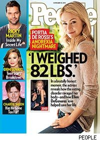 Portia de Rossi Says Eating 300 Calories a Day 'Made Perfect Sense'