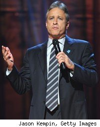 Cable King Jon Stewart Beats Out Letterman and Leno