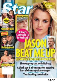 Britney Spears Star Magazine