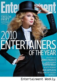 Taylor Swift is EW's 'Entertainer of the Year'