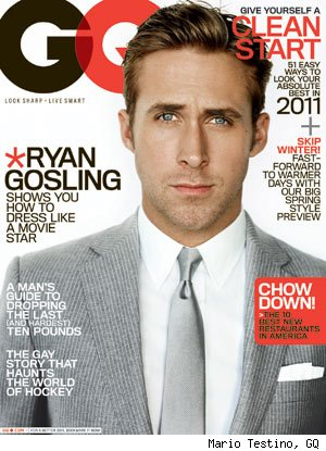 Ryan Gosling Rings in the New Year for GQ