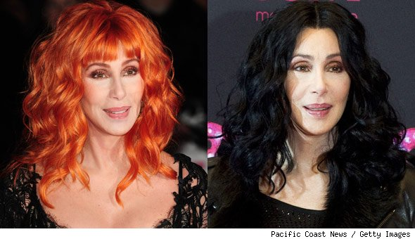 Cher red hair