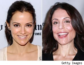 Bethenny Frankel and Rebecca Budig