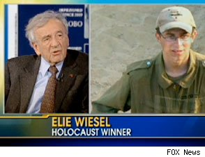 Fox & Friends Caption Calls Elie Wiesel 'Holocaust Winner'