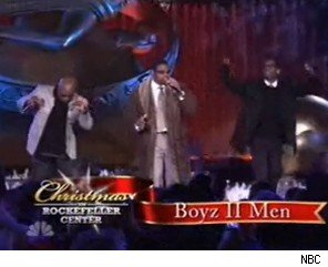 Boyz II Men Caught Lip Syncing During Christmas TV Special