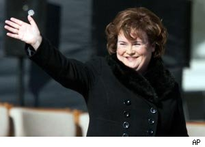 Susan Boyle Album Expected to Beat Out 'Glee' and Black Eyed Peas