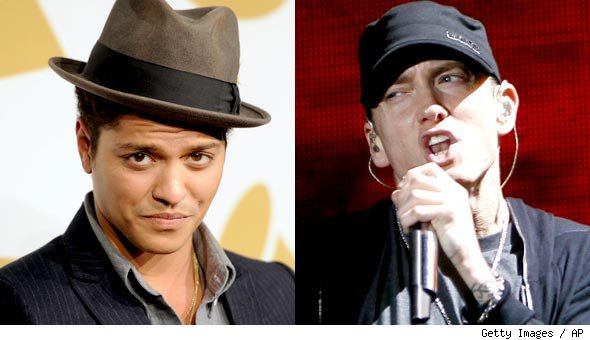 Bruno Mars and Eminem