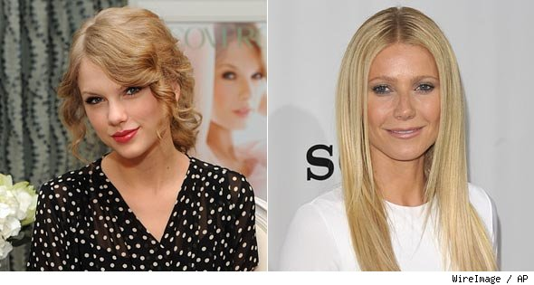 Gwyneth Paltrow and Taylor Swift