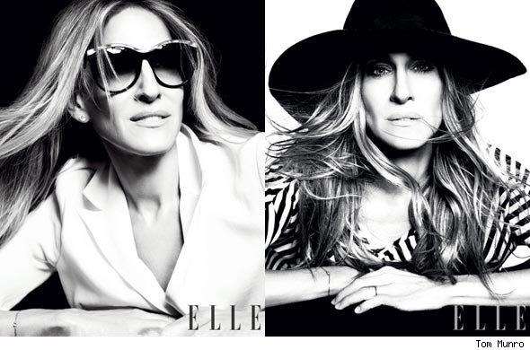 Sarah Jessica Parker Tells Elle, 'Oh my God, I'm Aging All the Time'