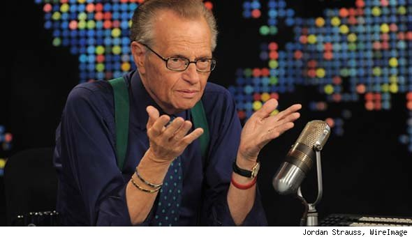 Larry King Retires 'Live' After Tonight's Episode