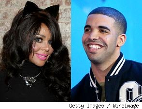 Lil' Kim and Drake