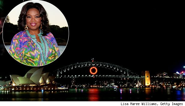 Oprah Winfrey is The (Talk Show) Queen of Australia