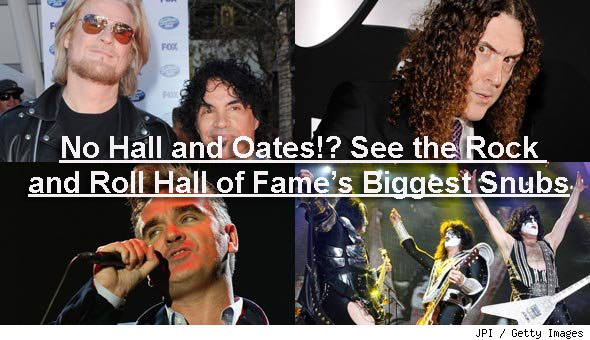 Rock and Roll Hall of Fame Snubs