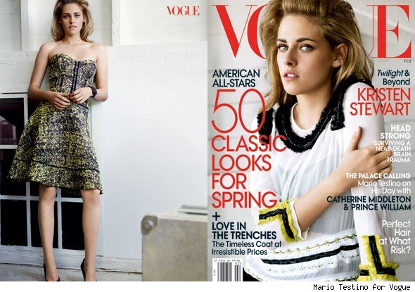 Kristen Stewart in Vogue: 'Just Being Some Chick... That's Gone'