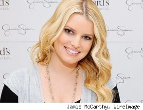 Jessica Simpson workout tape
