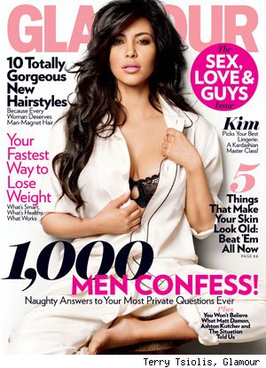 Kim Kardashian in Glamour: 'We All Know This Can Go Away at Any Moment'