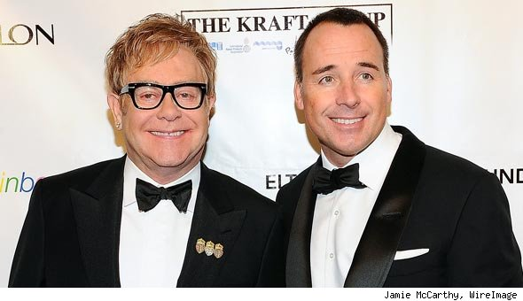 Elton John Is Biological Father of Baby With Husband David Furnish