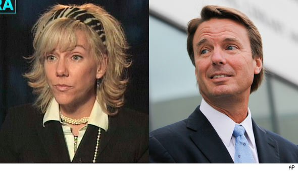 Report: John Edwards Proposes to Rielle Hunter Weeks After Wife's Death