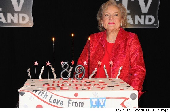 Betty White Birthday Party