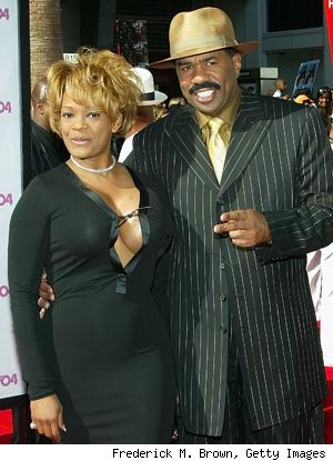 Mary Harvey and Steve Harvey