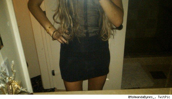 Amanda Bynes TwitPic photo