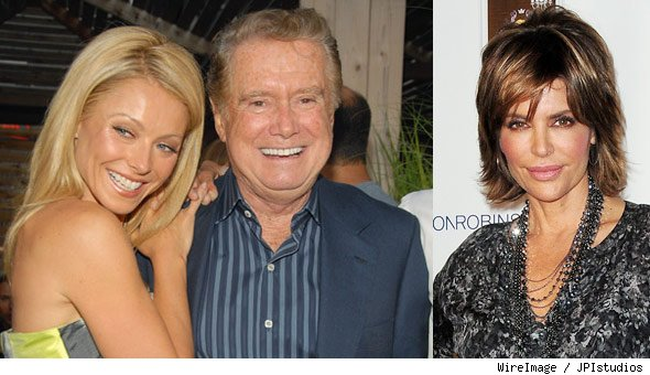 Regis and Kelly, Lisa Rinna
